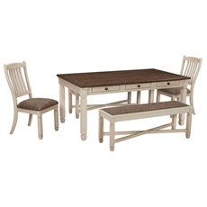 Signature Design by Ashley Bolanburg 5 Piece Dining Set