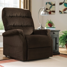 Signature Design by Ashley Brenyth Power Lift Recliner in Chocolate