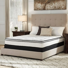 Full Ashley Chime 10 Inch Hybrid Euro Top Bed in a Box Mattress