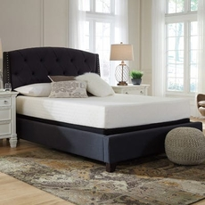 Ashley Chime 10 inch Memory Foam Cushion Firm Bed in a Box Queen Mattress Only SDMB091921 - Scratch and Dent Model ''As-Is''
