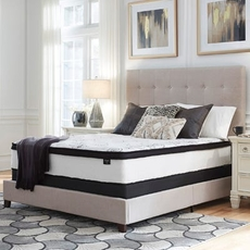 Cal King Ashley Chime 12 Inch Hybrid Plush Bed in a Box Mattress
