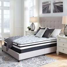 Ashley Chime 8 Inch Innerspring Firm Bed in a Box Queen Mattress Only SDMB101904 - Scratch and Dent Model ''As-Is''