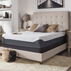 Cal King Ashley Chime Elite 12 inch Memory Foam Firm Bed in a Box Mattress