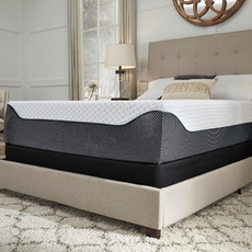 Queen Ashley Chime Elite 14 Inch Memory Foam Cushion Firm Bed in a Box Mattress