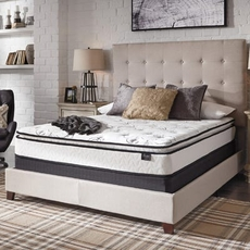 Queen Ashley Chime Innerspring Pillow Top Bed in a Box Mattress