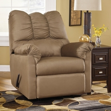Signature Design by Ashley Darcy Rocker Recliner in Mocha