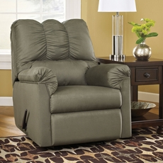 Signature Design by Ashley Darcy Rocker Recliner in Sage
