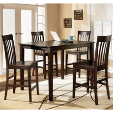Signature Design by Ashley Highland 5 Piece Counter Height Dining Set