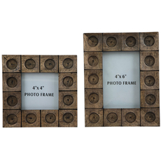 Signature Design by Ashley Jasiah Antique Gray Photo Frame Set of 2