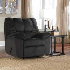 Signature Design by Ashley Julson Rocker Recliner in Ebony