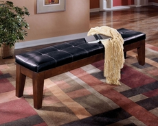Signature Design by Ashley Lexington 76 inch Upholstered Bench