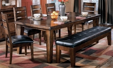 Signature Design by Ashley Lexington Rectangle Extension Dining Table