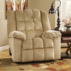 Signature Design by Ashley Ludden Rocker Recliner in Sand