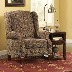 Signature Design by Ashley Nadior High Leg Recliner in Paisley