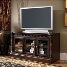 Signature Design by Ashley New Haven Narrow TV Stand