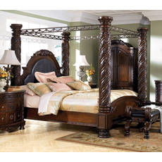 Signature Design by Ashley New Haven King Poster Bed