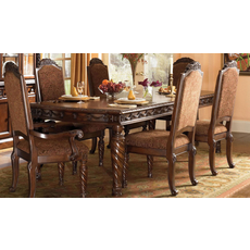 Signature Design by Ashley New Haven Shore Rectangle Extension Dining Table