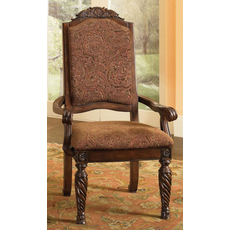 Signature Design by Ashley New Haven Upholstered Arm Chair Set of 2