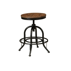 Signature Design by Ashley Pastoral Charm Pinnadel Swivel Stool Set of 2