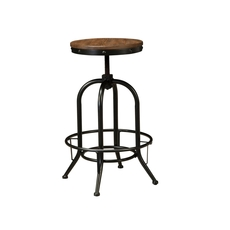 Signature Design by Ashley Pastoral Charm Pinnadel Tall Swivel Stool Set of 2
