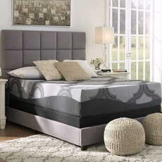 Ashley Sierra Sleep 12 Inch Hybrid 1200 Plush Bed in a Box Queen Mattress Only SDMB101902 - Scratch and Dent Model ''As-Is''
