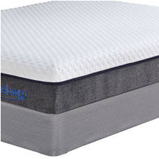Cal King Sierra Sleep by Ashley Mygel Hybrid 1100 Mattress