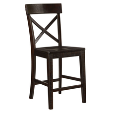 Signature Design by Ashley Timber and Tanning Gerlane Barstool Set of 2