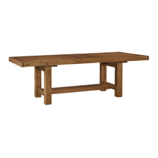 Signature Design by Ashley Timber and Tanning Tamilo Rectangular Dining Room Extension Table
