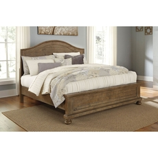Signature Design by Ashley Timber and Tanning Trishley King Size Panel Bed