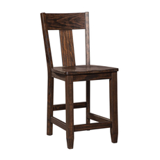 Signature Design by Ashley Timber and Tanning Trudell Barstool Set of 2