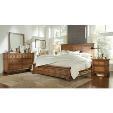 aspenhome Alder Creek 4 Piece Bedroom Set