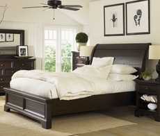 aspenhome Bayfield Sleigh Bed