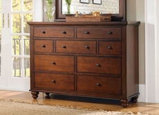 aspenhome Cambridge Chesser in Brown Cherry
