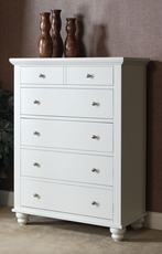 aspenhome Cambridge Chest in Eggshell