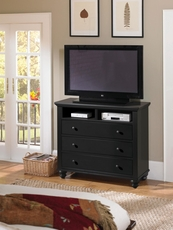 aspenhome Cambridge Entertainment Chest in Black