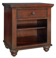 aspenhome Cambridge Kid's Nightstand in Brown Cherry