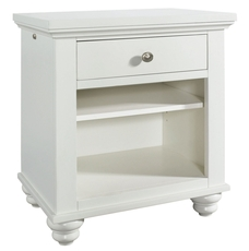 aspenhome Cambridge Kid's Nightstand in Eggshell