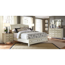 aspenhome Cottonwood 4 Piece Storage Bedroom Set
