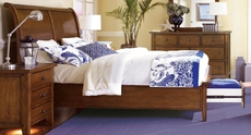 aspenhome Cross Country Sleigh Storage Bed