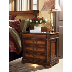 aspenhome Napa Four Drawer Nightstand