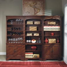 aspenhome Richmond Bookcase Wall