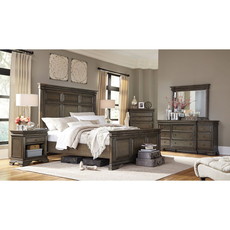 aspenhome Arcadia Cal King Panel Bed
