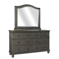 aspenhome Oxford Dresser in Peppercorn