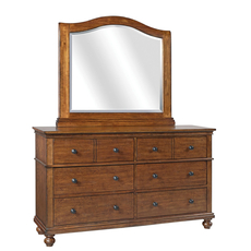 aspenhome Oxford Dresser in Whiskey Brown