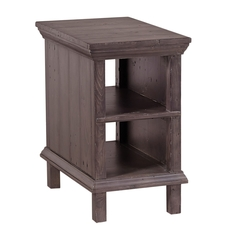 aspenhome Preferences Chairside Table in Shiitake