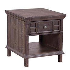 aspenhome Preferences End Table in Shiitake