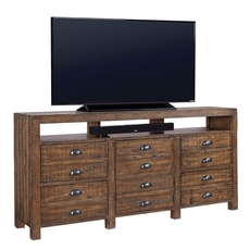 aspenhome Printworks 75 Inch Console in Rum