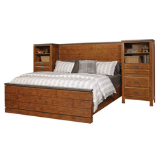aspenhome Rockland Cal King Panel Bed Wall