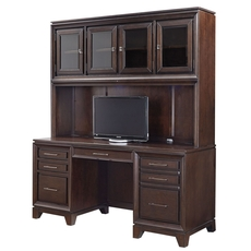aspenhome Viewscape 66 Inch Credenza and Hutch