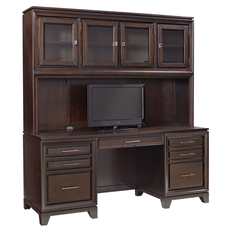 aspenhome Viewscape 72 Inch Credenza and Hutch